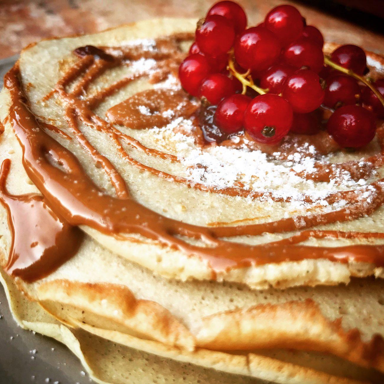 Pancakes golosi senza lattosio e gluten free