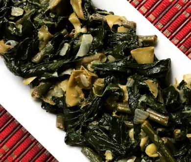 Fagiolini, taccole e spinaci