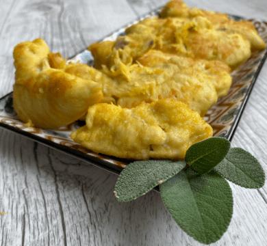 Pollo in crosticina dorata