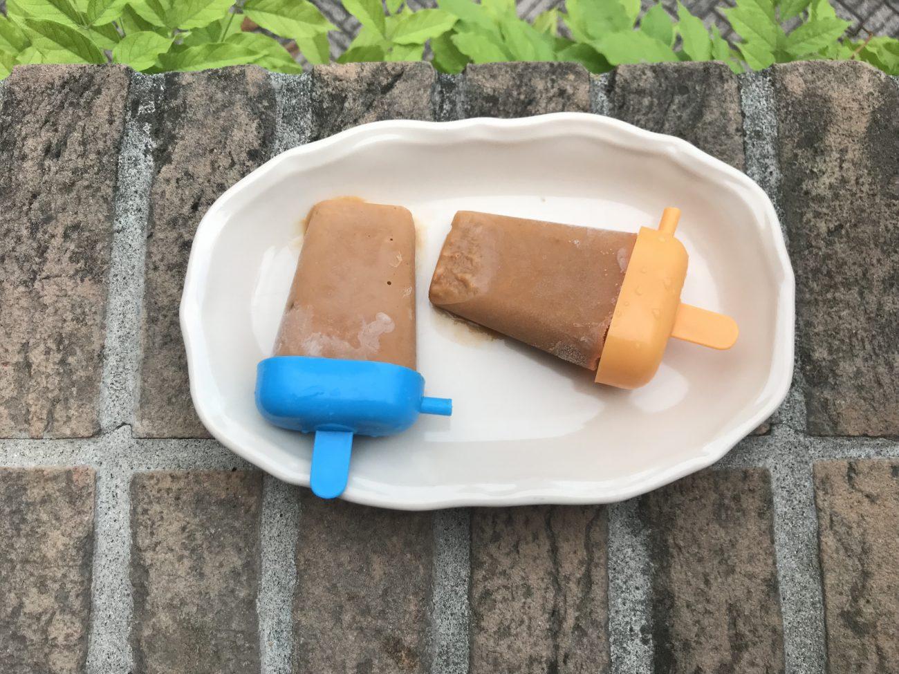 I mini gelati vegetali al gusto albicocca
